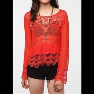 Anthropology crochet 🧶 top